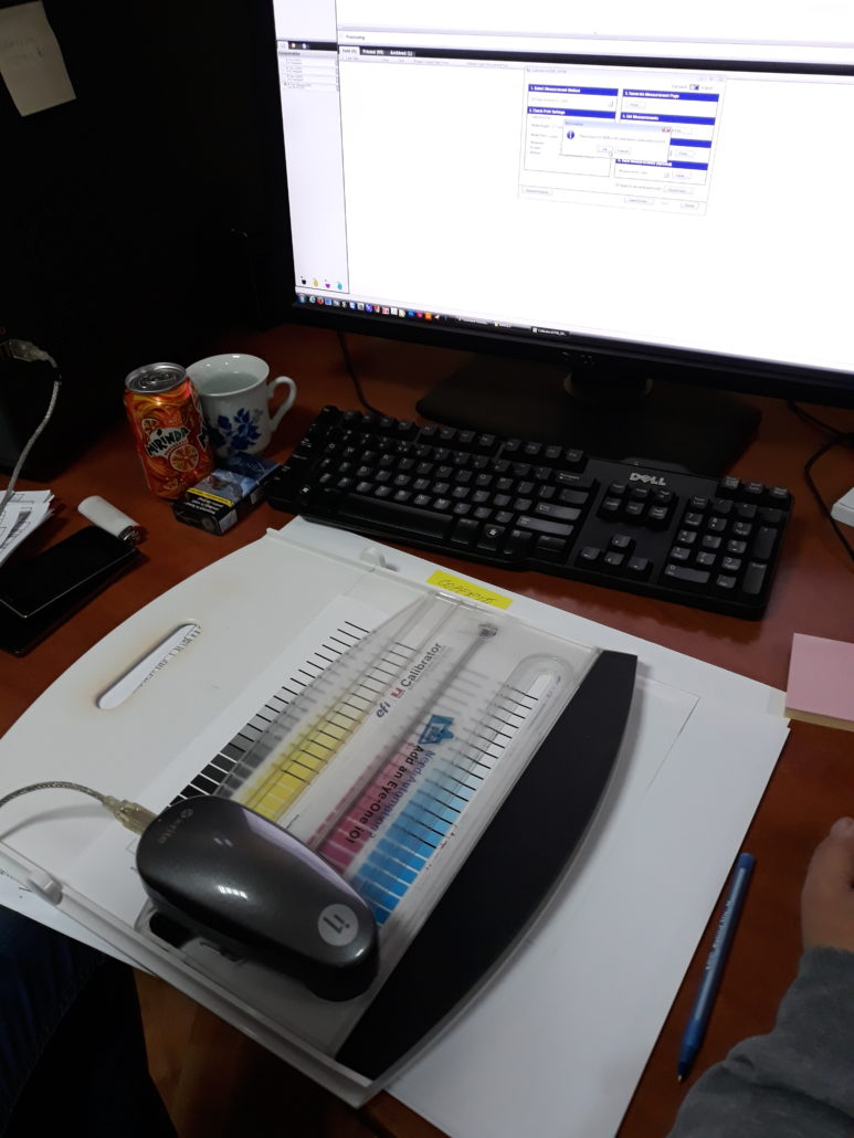 calibrare DTP PREPRESS