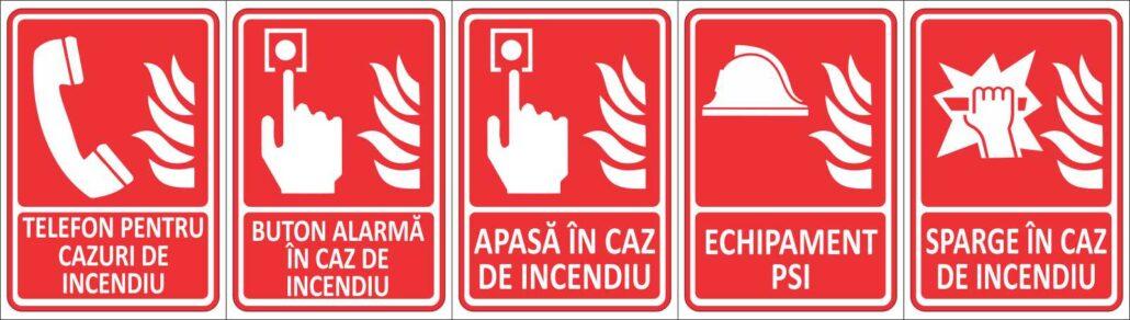 semnalistica prevenirea incendiilor